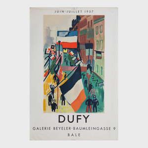 Two Raoul Dufy Posters