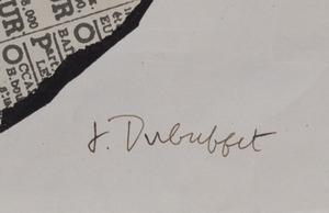 Jean Dubuffet (1901-1985): Peintures