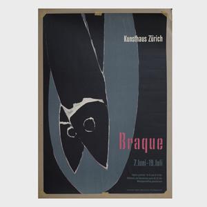 J. Muller Brockmann (1914-1996): Braque, Kunsthaus, Zurich