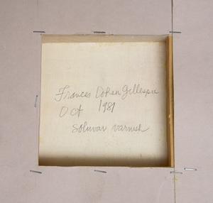 Francis Cohen Gillespie (b.1939): Lydia's Vase (White Chysanthemums)