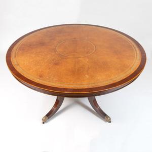 Regency Style Mahogany Center Table