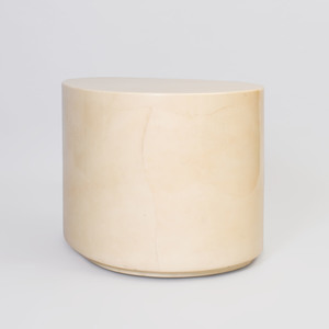 Aldo Tura Parchment Goatskin Covered Cocktail Table