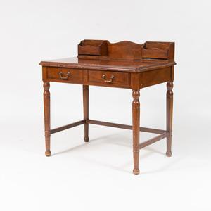 Victorian Walnut Writing Table