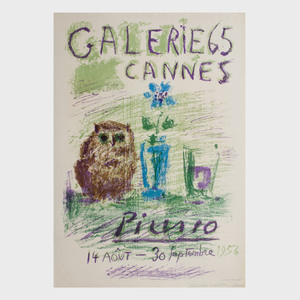 Pablo Picasso (1881-1973): Galerie 65 Cannes