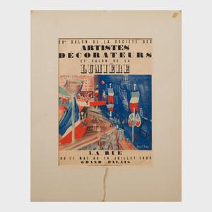 1939 Salon de la Société des Artistes Décorateurs Poster