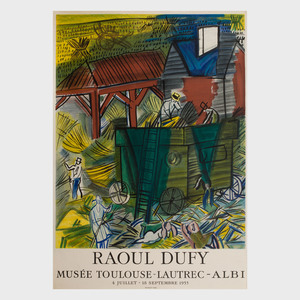 Three Raoul Dufy Posters
