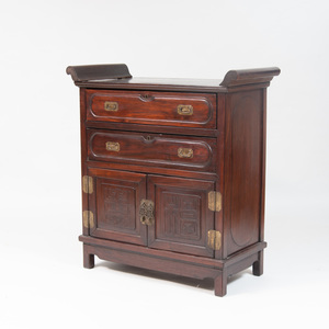 Chinese Hardwood Chest of Drawers