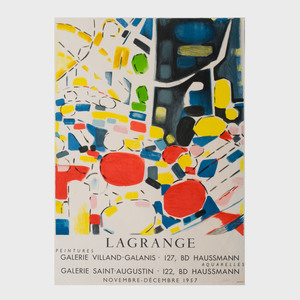 Two Jacques Lagrange Posters