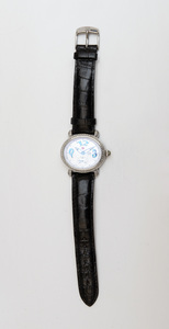 Michelle White Diamond and Mother-of-Pearl CSX Blue Ladies Wristwatch