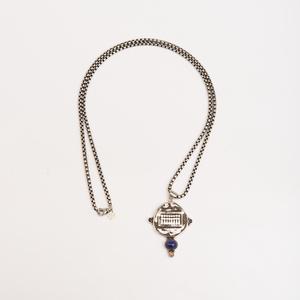 David Yurman Sterling Silver Pendant Necklace