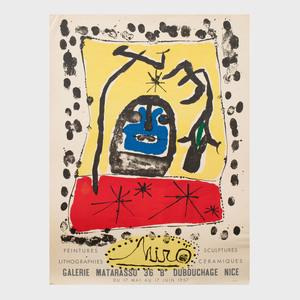 Two Joan Miró Posters