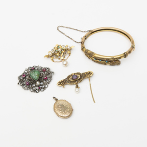 Group of Victorian Style Jewelry
