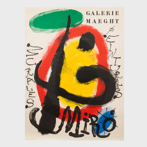 Three Joan Miró Posters