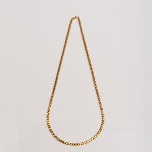 18k Gold Long Chain