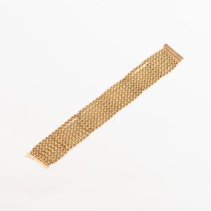 EM 18k Gold Multi-Strand Link Bracelet