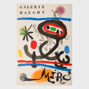 Three Joan Miró Posters