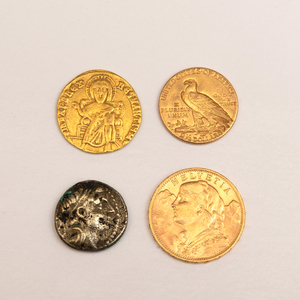 Miscellaneous Group of Four Coins
