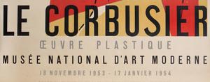 Le Corbusier Poster