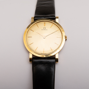 Omega Gold Wristwatch