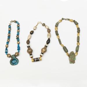 Three Beaded Necklaces