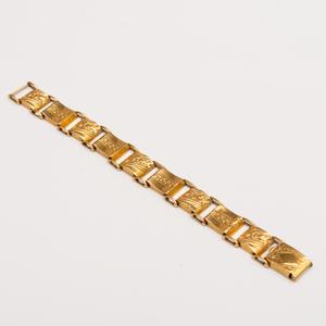 21k Gold Link Bracelet