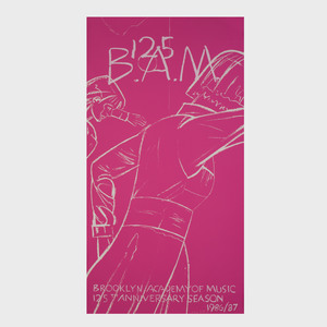 After Alex Katz (b.1927): B.A.M. 125; Two Posters; and ADF: Three Posters