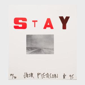 Jack Pierson (b. 1960): Stay