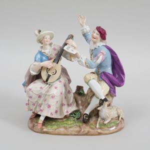 Meissen Porcelain Musical Group