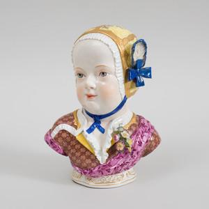Meissen Porcelain Kinderbust