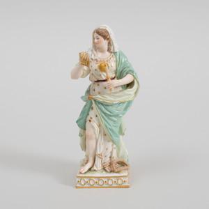 Meissen Porcelain Figure Emblematic of Science