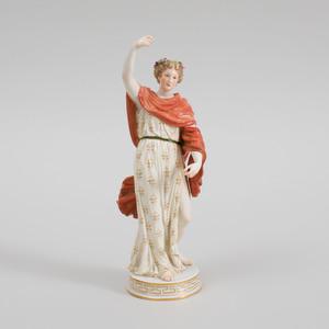 Meissen Porcelain Classical Figure