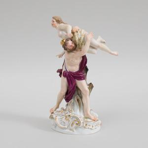 Meissen Porcelain Figure Group The Rape of Persephone