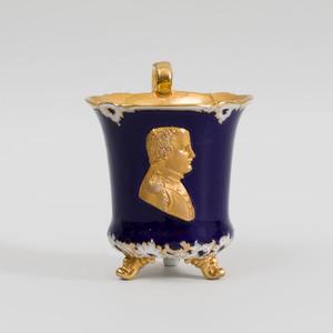 Meissen Porcelain Tripod Beaker Cup