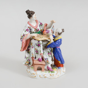 Meissen Porcelain Chinoiserie Group