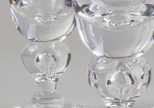 Set of Twelve Steuben Glass Sherries