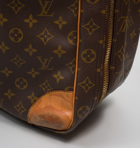 Two Louis Vuitton Soft Sided Suitcases