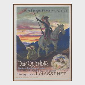 Georges Rochegrosse (1859-1938): Don Quichotte