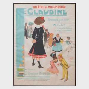 Charles Clérice (1865-1912): Claudine