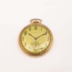 Hamilton 14k Gold Filled Pocketwatch
