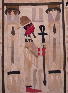 Two Egyptian Cotton Grand Tour Tapestries