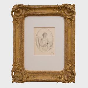 Henry Lebasque (1865 - 1937): Buste de Femme