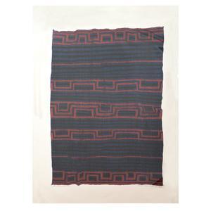 Jack Silverman (b. 1940):  Navajo Serape; Navajo First Phase Blanket; Navajo Childs Serape; Navajo Eyedazzler Blanket; Jemez Shirt; Navajo Childs Serape: and Navajo Moqoi Serape