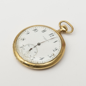 Touchon & Co. 18k Gold Pocket Watch