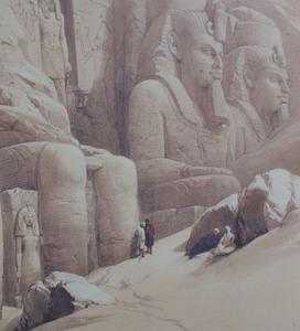 After David Roberts (1796 -1864): Egypt: Four Views