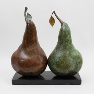 Luis Montoya (b. 1950) and Leslie Ortiz (b. 1957): Las Peras I