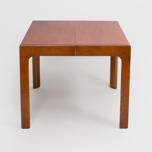 Henredon Stained Wood Extension Dining Table