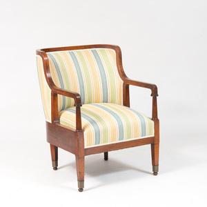 Biedermeier Style Fruitwood Desk Chair