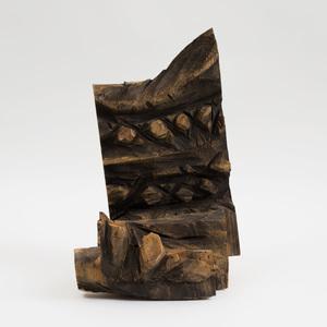Ursula von Rydingsvard (b. 1942): Landscape with Teeth