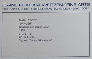 Mark Tobey (1890-1976): Dancer