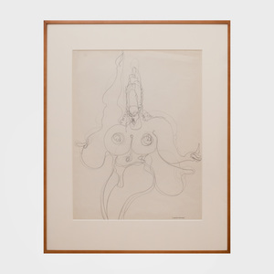 Gaston Lachaise (1882-1935): Dancing Female Nude with Headdress